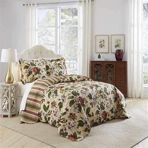 waverly bedding laurel springs bedspread by waverly bedding collection