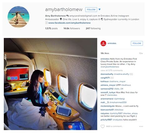 Emirates Instagram | the top 40 airlines who is the star on social media