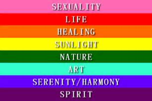 lgbt meaning of the color of the rainbow description of the cultural artifact pride rainbow