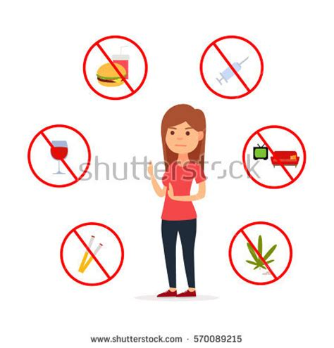 Hobby Vs Bad Habit Sc habit stock images royalty free images vectors