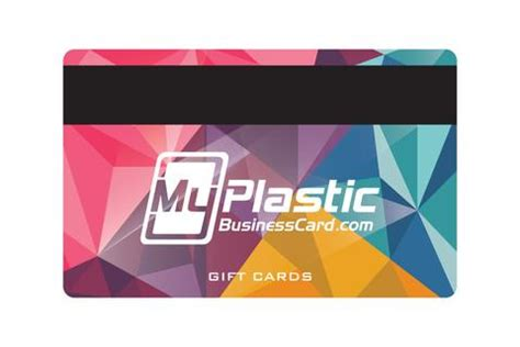 plastic gift cards for my business my plastic business card custom printed plastic business
