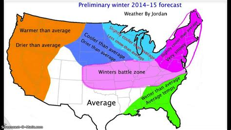 whats the winter outlook for 2015 2016 preliminary 2014 15 winter forecast youtube