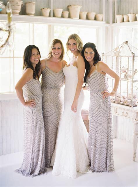 wedding trends beaded bridesmaid dresses the