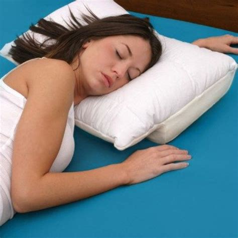 Sleeping With A Pillow by Innovative Sleep Pillow A Multi Position Pillow Home