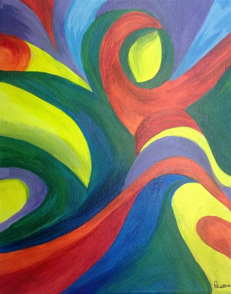 acrylic painting free simple abstract paintings www pixshark