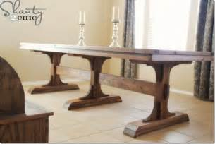 Diy Pedestal Dining Table Diy Farmhouse Table