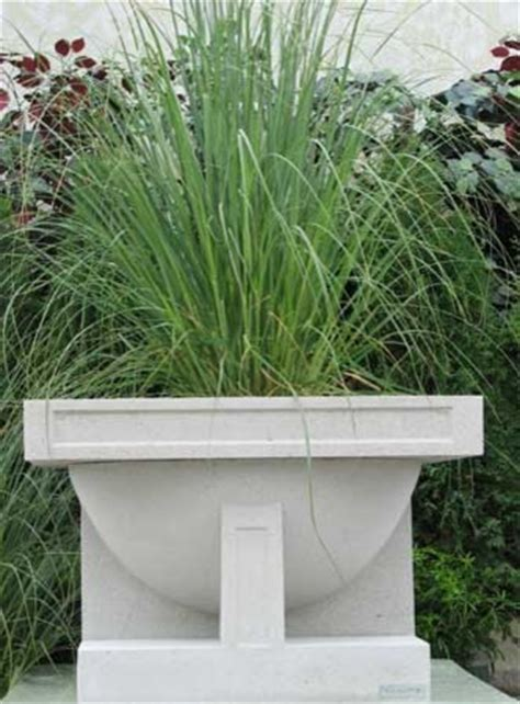 Frank Lloyd Wright Planter by Frank Lloyd Wright Studio Vase Planter Modern Outdoor Pots And Planters Other Metro By