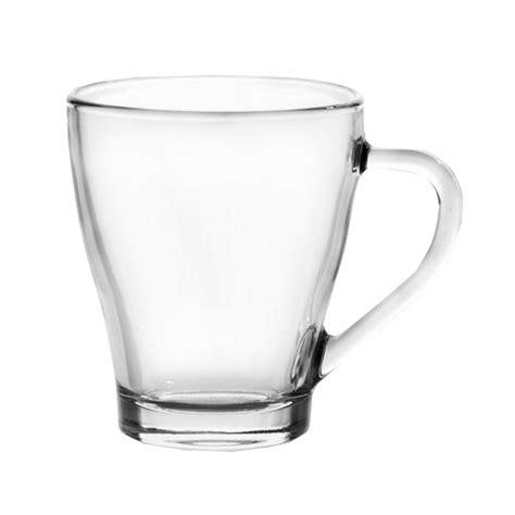 Glass Coffee Cup ravenhead 265ml coffee tea glass cup mug in choice of