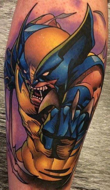 wolverine tatuajes imagenes calf wolverine tattoo el oceano tatuajes y oc 233 ano