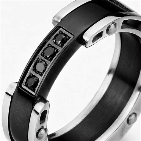 stainless steel ring for enhanced two tone