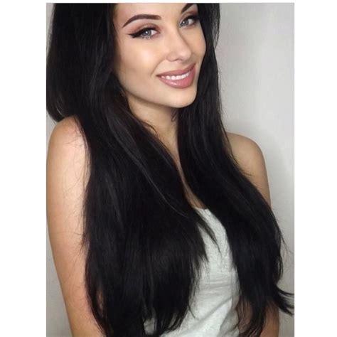 wiki how to get jet black hair jet black 1 20 quot 160g bombay hair