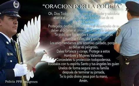 Oracion Con La Palabra Policia   oracion por los policias oraciones pinterest