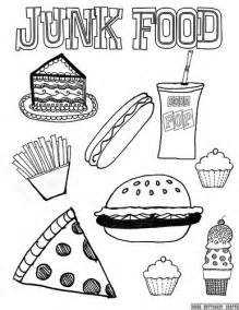 junk food 8 5 by11 coloring page flickr photo