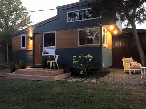 modern tiny home try out tiny living in the liberation tiny home on wheels