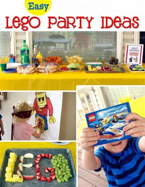 Easy  Ee  Lego Birthday Party Ideas Ee   Cupcake Diaries