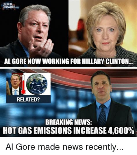 hillary clinton pictures videos breaking news louder crowder com al gore now working for hillary clinton