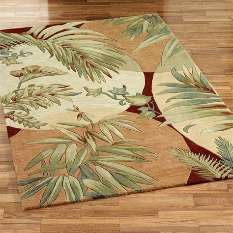 tropical design area rugs 46 best tropical rugs images on