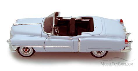 1953 Cadillac Eldorado Skala 1 24 Welly Diecast Miniatur 1953 cadillac eldorado convertible white welly 22414 1 24 scale diecast model car