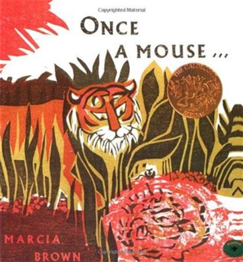 mouse books once a mouse by marcia brown reviews discussion