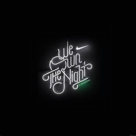 ab wallpaper  run  night london logo nike papersco