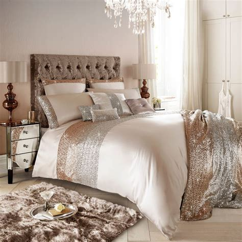 rose gold bed kylie minogue mezzano rose gold super king duvet cover