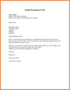 Sample resignation letter 2 weeks notice pictures to pin on pinterest