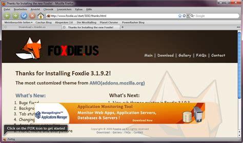 firefox themes einstellen firefox mit foxdie pimpen