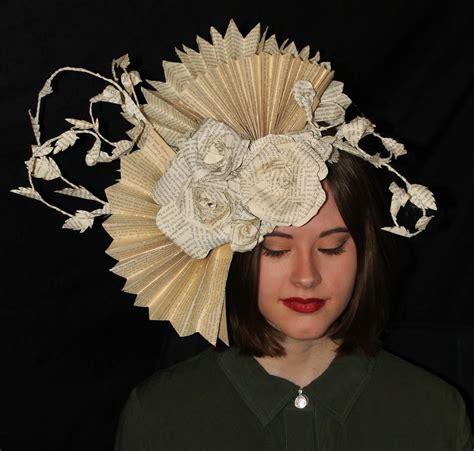 Diane Flower Headpiece diana book sculpture headpiece by wetcanvas on deviantart