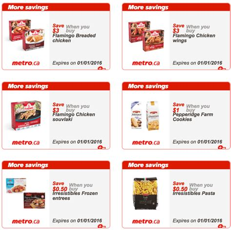 printable grocery coupons ontario canada metro ontario exclusive printable coupons december 28 to