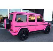 This Pink Mercedes G Wagon Will Wreck Your Retinas