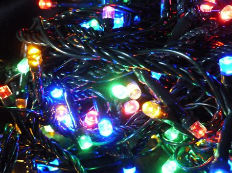 Christmas tree fairy lights 100 multi colour indoor outdoor battery