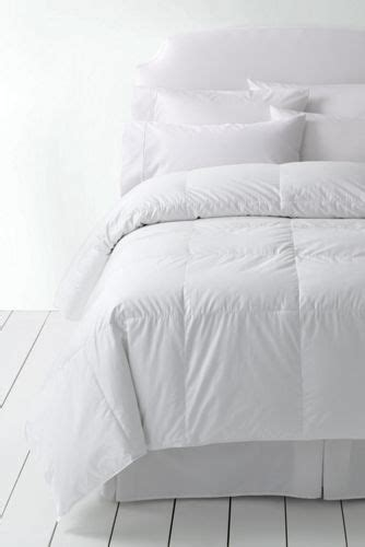 lands end down comforter elite goose down comforter from lands end