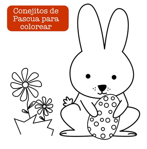 dibujos para colorear de conejitos bebes easter conejito de pascua easter bunny http dibujos