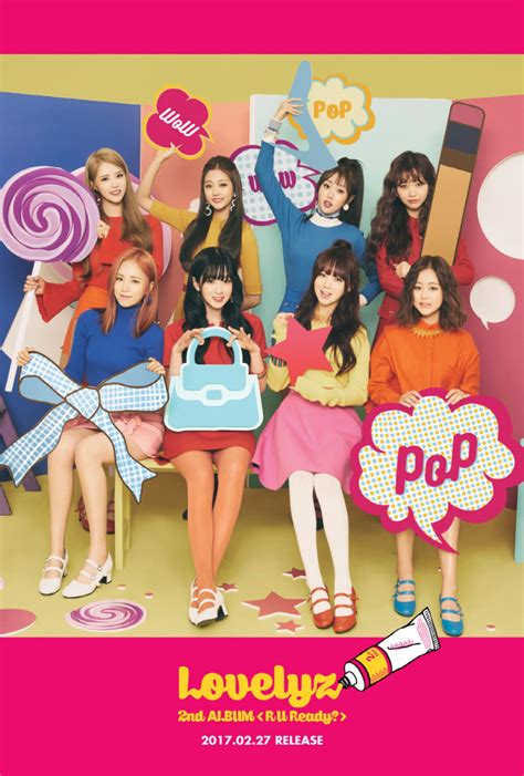 Album Lovelyz R U Ready teaser individual concept photos for lovelyz s quot r u ready quot kpopmap global hallyu media