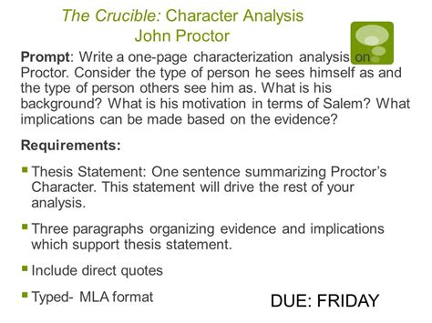 Proctor Character Analysis Essay by Application Letter 9gag Free Help With Research Paper Cover Letter For Internship No