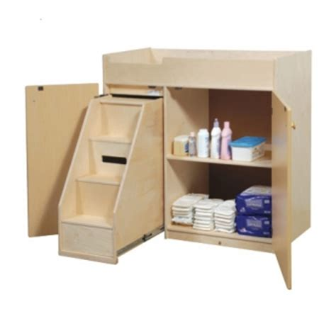 Changing Table With Steps Changing Table With Steps Manufacturing Corporation