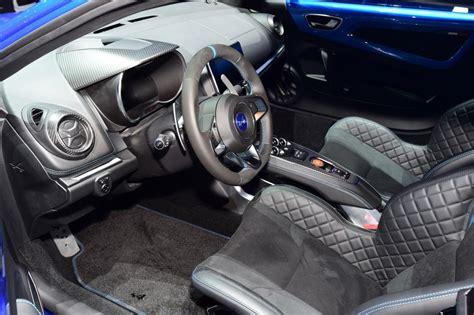 renault alpine interior alpine a110 sports car 2017 official pictures auto express