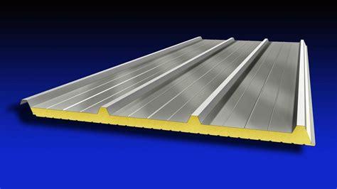 pannelli per tettoie prezzi pannello metallico coibentato per copertura isometal 4g