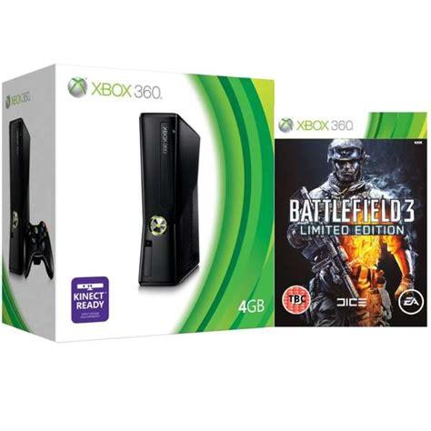 cheap xbox 360 arcade console xbox 360 4gb arcade bundle includes battlefield 3
