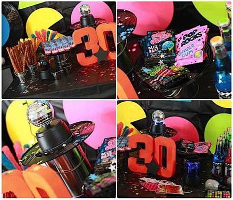80s party decorations adult 80 s party pinterest kara s party ideas 80 s rock star neon rocks adult teen