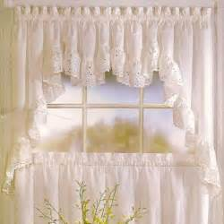 Kitchen Drapes And Curtains United Curtain Vienna Kitchen Valance Modern Curtains By Hayneedle