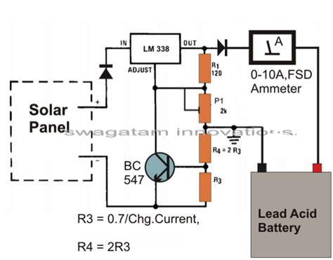 simple battery charger circuit diagram simple solar battery charger circuit circuit