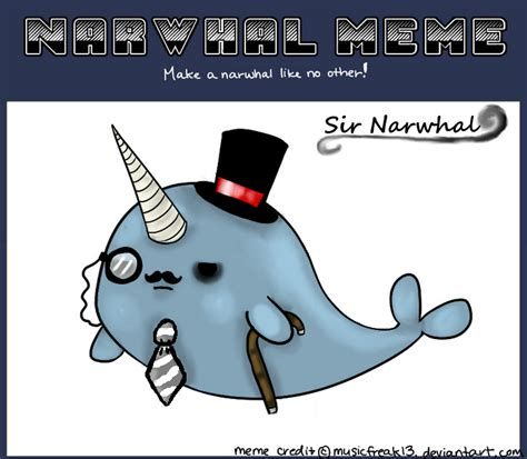 Narwhal Meme - the fantastic narwhal army meme 2 by nuttycoon on deviantart
