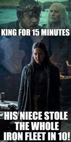 girl on boat with theon greyjoy game of thrones you had one job memes quickmeme game