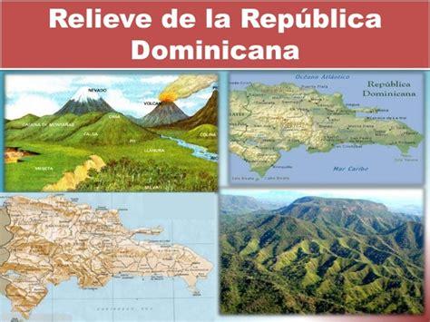 la repblica o el relieve republica dominicana