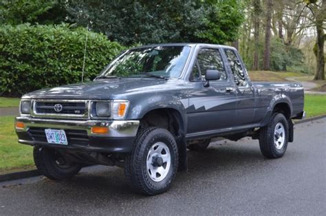 old cars and repair manuals free 1992 toyota 4runner windshield wipe control 1 owner 1992 toyota pickup extra cab 4x4 v6 5 speed manual only 92 247 miles