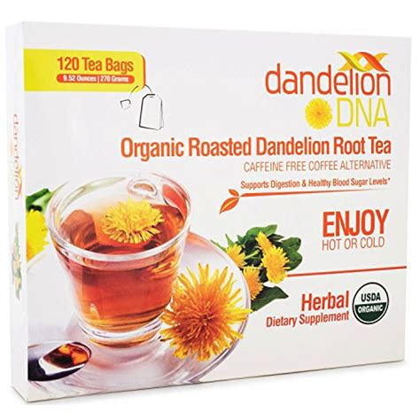 Roasted Dandelion Root Tea Detox Recipe by Organic Roasted Dandelion Root Tea 120 Bags