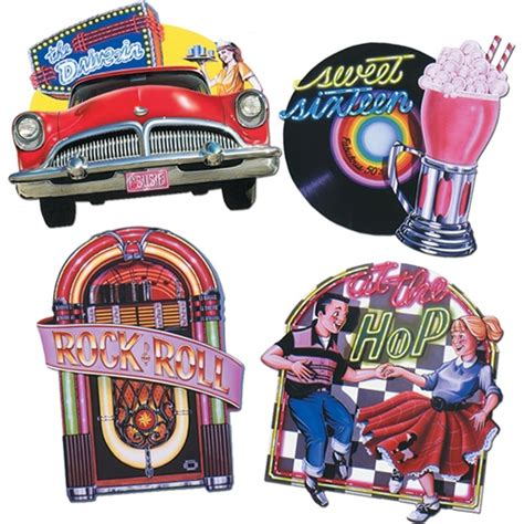 50s themed decorations 50s sock hop supplies 50s decorations partycheap