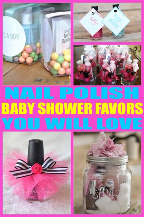 Baby Shower Favor Nail by Nail Baby Shower Favors