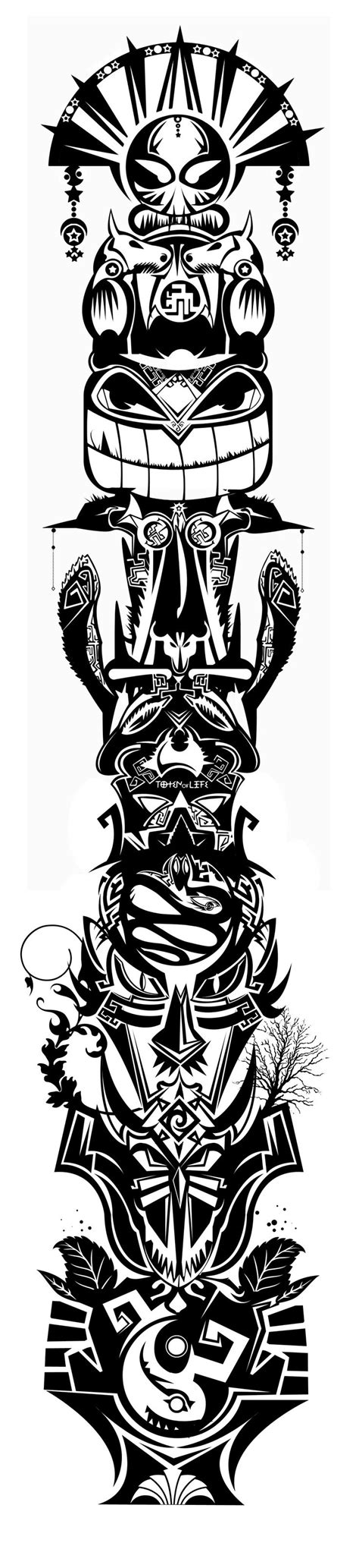 totem tattoo designs 25 best ideas about totem on totem
